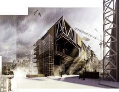 CGarchitect - Professional 3D Architectural Visualization User Community | Music School Under Construction