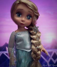 Elsa Rapunzel snow Queen Frozen animator Disney doll ooak custom animator's collection poupee la reine des neiges raiponce | by Alison Pikipook repaint ooak