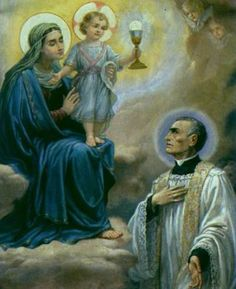 Our Lady of the Blessed Sacrament ................ http://www.olbs.org/our-patroness.html