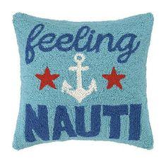 Feeling Nauti Hook Pillow