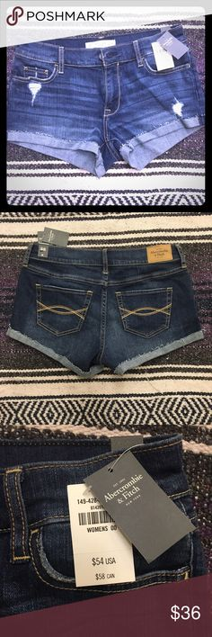 Abercrombie Denim shorts NWT Brand new Denim shorts Abercrombie & Fitch Shorts Jean Shorts