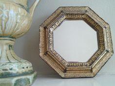 Small Florentia Mirror by MollysGoldenFancies on Etsy https://www.etsy.com/listing/250505916/small-florentia-mirror