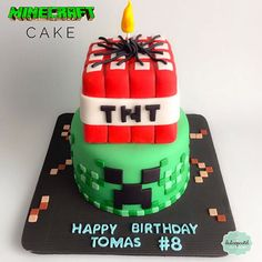 torta minecraft medellin dulcepastel