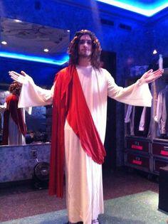 Brendon Urie | Andy Biersack in the background: AAAAHHH I'M JESUS!!! XD