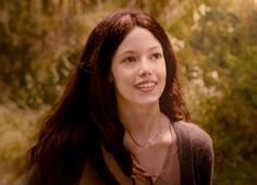"""In Breaking Dawn (the movie) there's this scene where Jacob sort of sees Renesmee growing up when he imprints, and the girl they chose for """"completely grown up Renesmee"""" looks almost EXACTLY like the mental picture I had of Bella when I first read the books."""