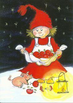 Virpi Pekkala - Virpi Hyvönen - Picasa-Webalben Christmas Illustration, Cute Illustration, Christmas Pictures, Christmas Fun, Baumgarten, Childrens Christmas, Winter Art, Pattern Drawing, Cute Characters