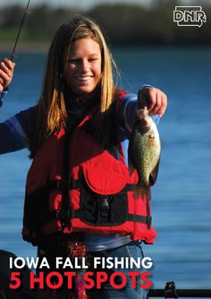5 Hot Spots for Fall Fishing in Iowa from the Iowa DNR