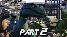 LEGO Jurassic World Video Game Walkthrough Gameplay Part 2 - Raptors (PS4)