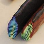 Picture tutorial of feather cane