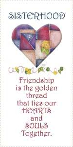Sisterhood Friendship Message Panel