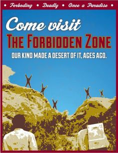 Planet of the Apes: Forbidden Zone Poster by Steve Elliott