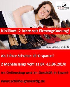 Rabattaktion zum Jubiläum der offiziellen Firmengründung! :)