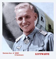 Der Beste der besten, Erich Hartmann mit 352 Luftsiegen !
