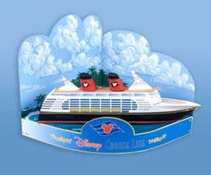 Disney Wonder Cruise Ship Paper Model Diorama Free Template Download - http://www.papercraftsquare.com/disney-wonder-cruise-ship-paper-model-diorama-free-template-download.html#Cruise, #Diorama, #Disney, #DisneyWonder, #Ship
