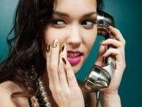 The Lazy Girl's Guide to Dirty Talk Nail Manicure, Nail Polish, Telephone Vintage, Seasonal Nails, Bedroom Eyes, Metallic Nails, Chrome Nails, Hot Nails, Holographic Nails