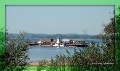 Balsa para travessia do Rio Xingu - Altamira Pará