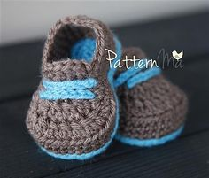 Cozy Kicks pattern by Rebecca PatternMa