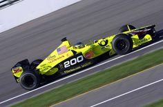 Jean Alesi in a Jordan-Honda at the 2001 United States Grand Prix.
