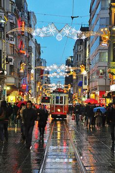 istiklal by on DeviantArt Turkey Art, Istanbul Travel, Pamukkale, Turkey Travel, Istanbul Turkey, Travel And Leisure, Best Cities, Wonderful Places, Landscape Photography