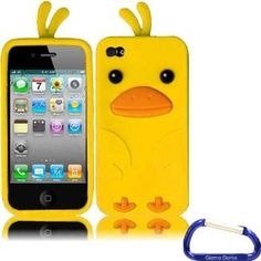 Amazon.com: Gizmo Dorks Silicone Jelly Gel Skin Case Cover for the iPhone, Duck: Cell Phones & Accessories