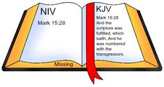 """Something is missing! What else is missing from your """"bible""""?"""