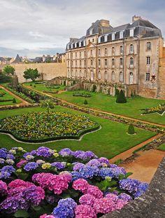 Gardens at Vannes France