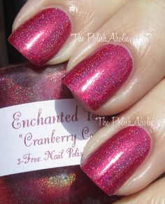 Enchanted Polish - Cranberry Cosmos  Number one lemming <3