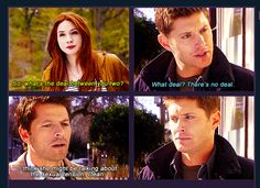 That would so be Amy, after the others had started to walk off. < Like with the Doctor and River Supernatural Destiel, Castiel, Fandom Crossover, Two Brothers, Fandoms Unite, Super Natural, Dr Who, Superwholock, Doctor Who