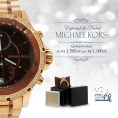 Especial de Natal Michael Kors. Confira a promoção no site www.1001noites.com.br  #relógios #1001noites #natal