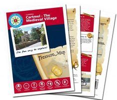 The Cartmel - The Medieval Village Treasure Hunt Trail Castle Douglas, Durham City, Glasgow City, Pirate Adventure, Fun Days Out, Treasure Maps, River Walk, Tower Of London, North Yorkshire