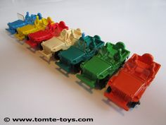 No. 750/2 - Jeep, 1962-1978 / Tomte Toys - Tomte Laerdal, Stavanger Norway