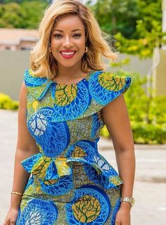 Items similar to ankara dress african dress summer dress fall dresses peplum dresses african women african fashion ankara midi dresses on Etsy African Fashion Ankara, African Fashion Designers, African Print Dresses, African Print Fashion, African Dress, Africa Fashion, African Prints, African Lace, African Style