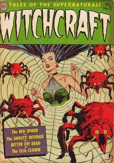 Comic Book Cover For Witchcraft #3