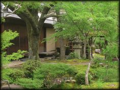 大寧軒(露地庭と庭石)/南禅寺界隈/京都の庭園と伝統建築/京都の近代建築