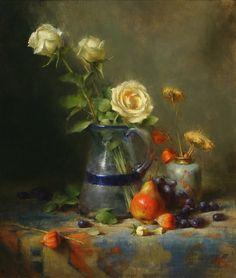 David Riedel 1956| Still life painter