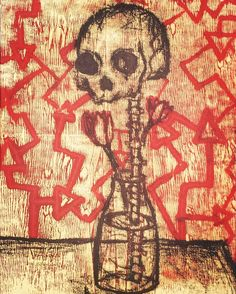 A monoprint that I forgot to post when I made it #art #printmaking #monoprint #skull #skeleton #skulldrawing #creepy #creepyart #creepydrawing #weird #weirdart #weirddrawing #dark #grunge #goth #flowers #artistofinstagram #instaartist #trippy #trippyart #darkart #art_boost_sa #global_arts #art_help #arthelper_ #sketchzone #talentedpeopleinc by savanahnoel815
