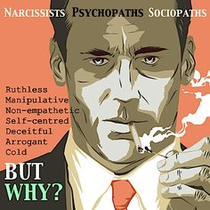 Narcissists. Psychopaths. Sociopaths. Common labels used in the media to describe those of us with more extreme ruthless, bullying & non-empathetic personality traits. These reports are scathing but provide no sound reason for this behaviour or any real & lasting solution. But, biologist Jeremy Griffith has... www.worldtransformation.com/freedom-book1-the-power-addicted-state/