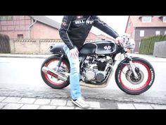 HONDA CB 350 CAFE RACER  heavyweight polished metal motorcycle keyring keychain
