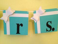 Breakfast at Tiffany's Tiffany Blue Party Decorations - Snack Popcorn Boxes - Set of 8. $12.00, via Etsy.