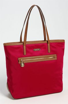 MICHAEL Michael Kors 'Kempton' Nylon Tote, Large available at #Nordstrom. Perfect for the summer