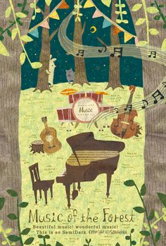 Music of the Forest. by Megumi Inoue.