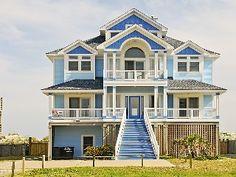 Ocean Sounds 7 Bedroom, 8.2 Bath Ocean Front Home in HatterasVacation Rental in Hatteras from @HomeAway! #vacation #rental #travel #homeaway