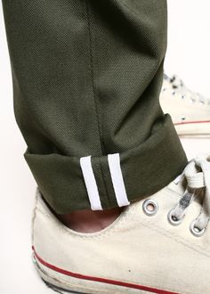 Rogue Territory Officer Trousers Olive Twill
