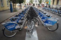 Poland - Warsaw - VETURILO Warsaw Public Bicycle (2400 bikes)