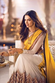 saree styles for farewell . saree styles for farewell modern . saree styles for farewell teenagers . saree styles for farewell classy Deepika Padukone Saree, Indian Celebrities, Bollywood Celebrities, Bollywood Fashion, Bollywood Saree, Saree Fashion, Fashion Outfits, Fasion, Indian Attire