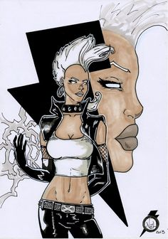 storm old style x-men by tenshiflyers on deviantART