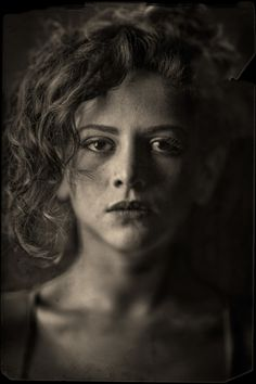 Tintype by Albert Dahlin