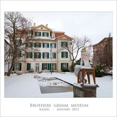 Visit The Brothers Grimm Museum - Kassel, Hessen (photo by Oh The Places You'll Go, Places Ive Been, Brothers Grimm, To Infinity And Beyond, Future Travel, Germany Travel, Day Trips, Trip Planning, Book Lovers