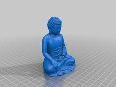 Gautama Buddha is believed to have lived and taught mostly in the eastern part of the Indian subcontinent sometime between the sixth and fourth centur Gautama Buddha, Buddhism, 3d Printer, How To Memorize Things, Printing, Statues, Ideas, Templates, Buddha
