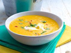 Möhren-Orangen-Suppe mit Ingwer